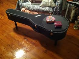 guitar case turned into a coffee table j b designs pinterest