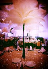 ostrich feather centerpiece ostrich feather centerpieces