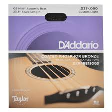 d addario custom light strings for gs mini e bass chicago