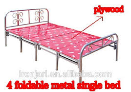 Single Folding Bed Impressive Folding Single Bed Ironjarl Metal Single Folding Bed
