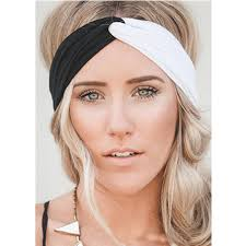 headbands for 6pcs lot woman stretch twist turban headband sport headbands