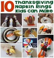 10 thanksgiving napkin rings can make lesson plans
