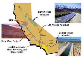 Los Angeles Aqueduct Map by Los Angeles Water Problem