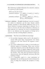 Neutral Connotation Cruse A Glossary Of Semantics And Pragmatics