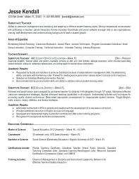 sample english teacher resume u2013 topshoppingnetwork com