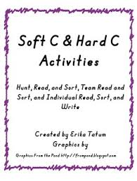 soft c hard c word sort activities by tatum u0027s teaching treasures