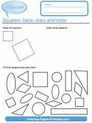 33 free shapes worksheets for preschool kindergarten