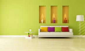 home interior wall living room wall brighter with light green painting living room