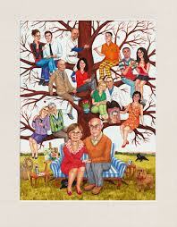 commission your family tree painting from photos of your family