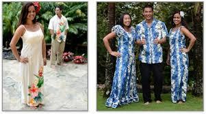 hawaiian themed wedding dresses luau wedding dresses the chef