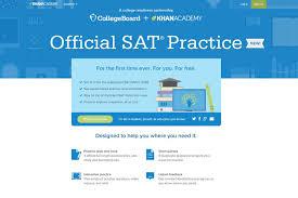 sat prep courses finally free online new york post