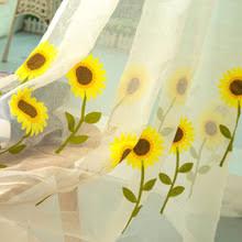 sunflower kitchen curtains online shopping the world largest