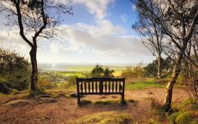 miscellaneous quiet peaceful sky place view beautiful bench