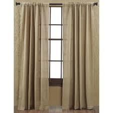 Green Burlap Curtains Burlap Curtains You U0027ll Love Wayfair