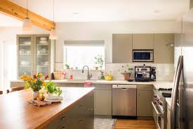 desk in kitchen design ideas a kitchen is given an energy efficient makeover hgtv