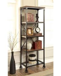amazing deal on ventura ii cm ac6278 s bookshelf with industrial