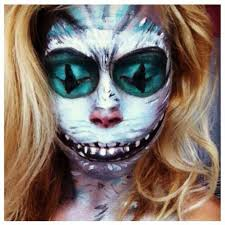 Cheshire Cat Halloween Costume 71 Face Paintings Images Costumes Halloween