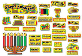 kwanzaa decorations bulletin board set mini kwanzaa cd 110058