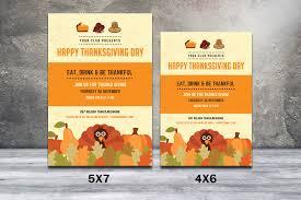 thanksgiving potluck invitation thanksgiving flyer template virtren com