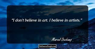 110 famous quotes by marcel duchamp that will paint your life with