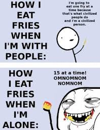So True Memes - civilized everytime fries funny hahaha image 338401 on