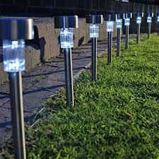 Led Solar Landscape Lights Coolest 18 Outdoor Yard Lights