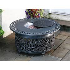 Rectangle Fire Pit Table Furniture Make Your Patio More Lovely With Propane Fire Pit For