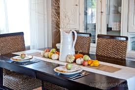 harvest dining room tables fall dining room table decorating ideas