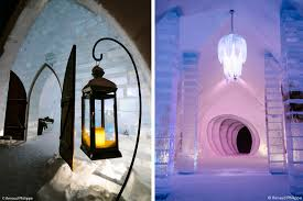 Hotel De Glace by Hôtel De Glace Unveils 2016 Design Made Of 500 Tons Of Ice And