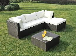 canap salon de jardin awesome salon de jardin canape d angle resine tressee noir esmeralda