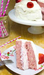 25 ideas strawberry cake scratch