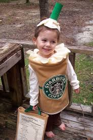 Cute Halloween Costumes Girls Kids Diy Starbucks Halloween Costume Awesome Costumes
