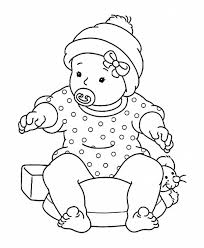 free coloring pages baby coloring pages ideas