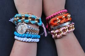 link friendship bracelet images Diy chunky link ball chain friendship bracelets the stripe jpg