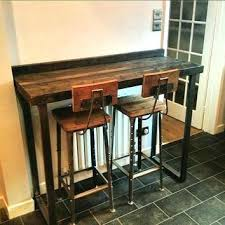 metal bar height table bar height table and stools dark kitchen design with wire bar stools