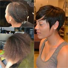hair weave for pixie cut thepixiesewin all time fav theanthonyaffect thecutlife