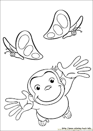 curious george 11 coloring free curious george coloring