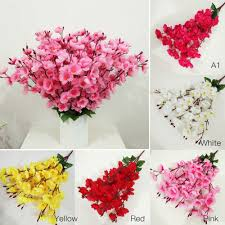 Decorative Flowers For Home by Compare Prices On Peach Blossom Flower Online Shopping Buy Low