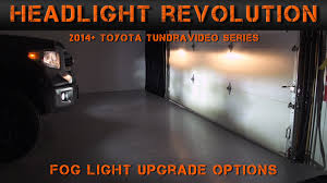 2016 toyota tundra fog light bulb 2014 2017 toyota tundra fog light options tundra video series 2
