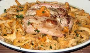 cuisiner rable de lapin recettes gibiers à poils râble de lapin aux petites girolles