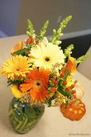 halloween floral centerpieces fall flower arrangements dots and honey