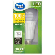 Led Light Bulbs 100w Equivalent by Led Light Bulbs Walmart 133 Cool Ideas For Ge W Equivalent Uses