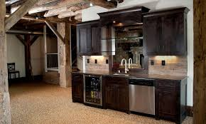 home decor wonderful basement bar idea cool with exposed