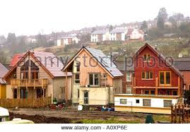 build on site homes eco homes construction self build homes under construction at the