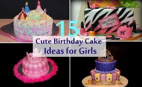 15 cute birthday cake ideas girls bash corner