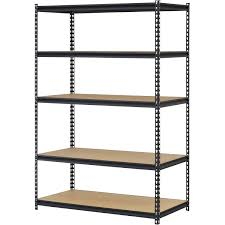 basement storage shelves plano 4 tier heavy duty plastic shelves white walmart com