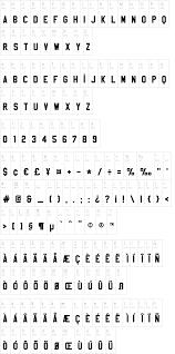 Cnc Programmer Resume Sample by Sablon Up Font Dafont Com
