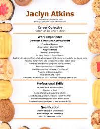 sle resume free download professional baking bakery cashier resume solliciteren pinterest template