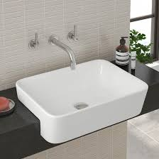 semi recessed bathroom sinks semi recessed bathroom sink sink designs and ideas