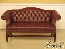 Blue Leather Chesterfield Sofa Leather Chesterfield Sofa Ebay